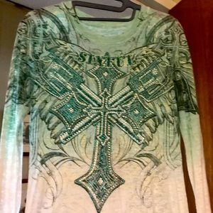Affliction Sinful Top